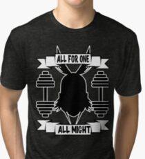 Gym All Might Tri-blend T-Shirt