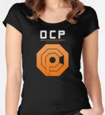 Omni Consumer Products (OCP) Women's Fitted Scoop T-Shirt