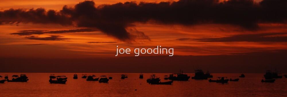 nicaraguan sunset IV by joe gooding