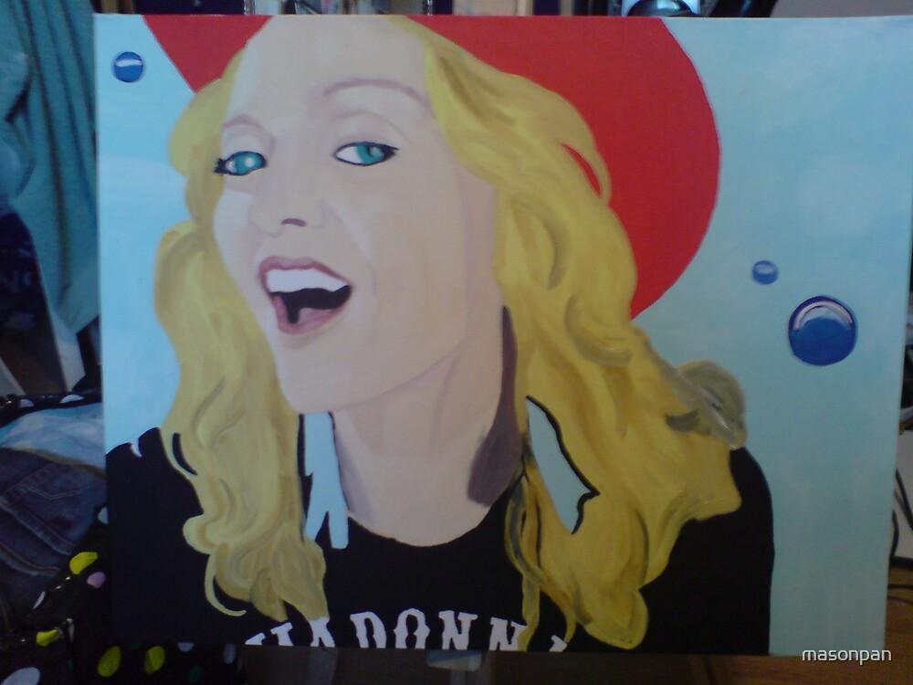 Madonna pop art by masonpan