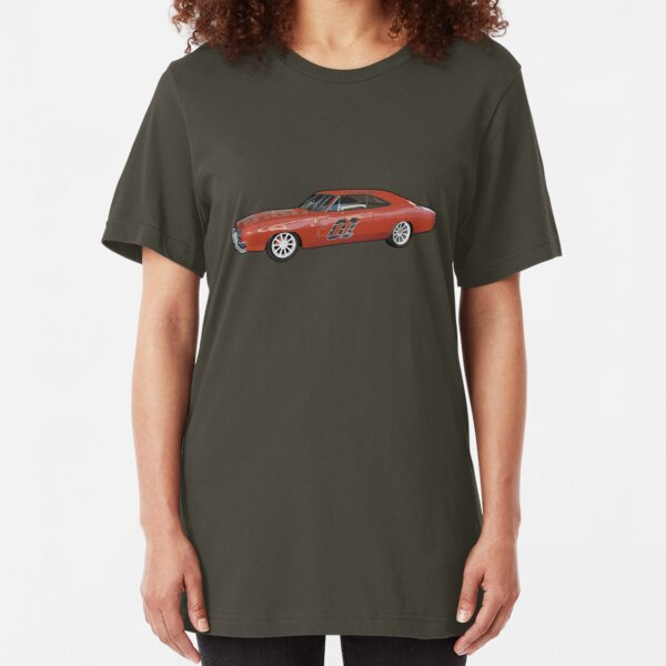 Dodge Charger - Extreme Lee Slim Fit T-Shirt