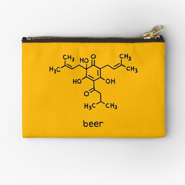 Beer Science T-Shirt Zipper Pouch
