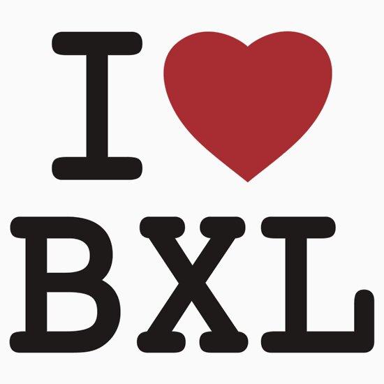 TShirtGifter presents: I Love Bxl
