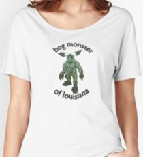 Bog Monster Of Louisiana (Smaller Size) Women's Relaxed Fit T-Shirt