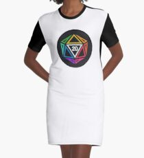 Crit 20 Graphic T-Shirt Dress