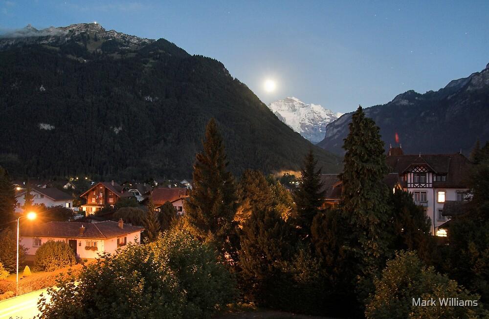 Night in Switzerland by Mark Williams