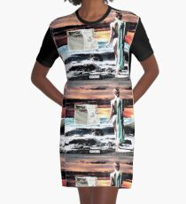 Her Master Graphic T-Shirt Dress