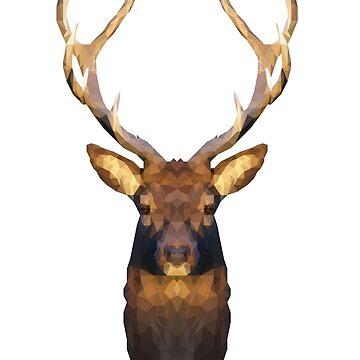 Deer by danielesaturn