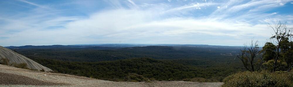 Bald Rock Panoramic by DePaul