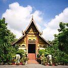 Wat Chiang Rai Thailand by Caren della Cioppa