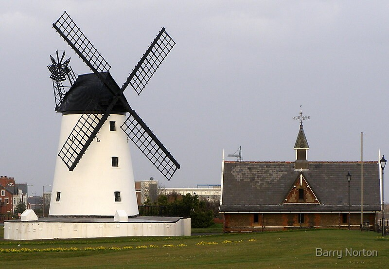Lytham windmill by Barry Norton