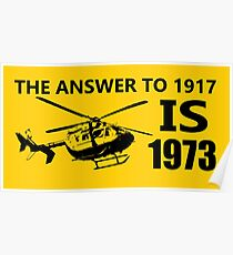 The Answer To 1917 Poster
