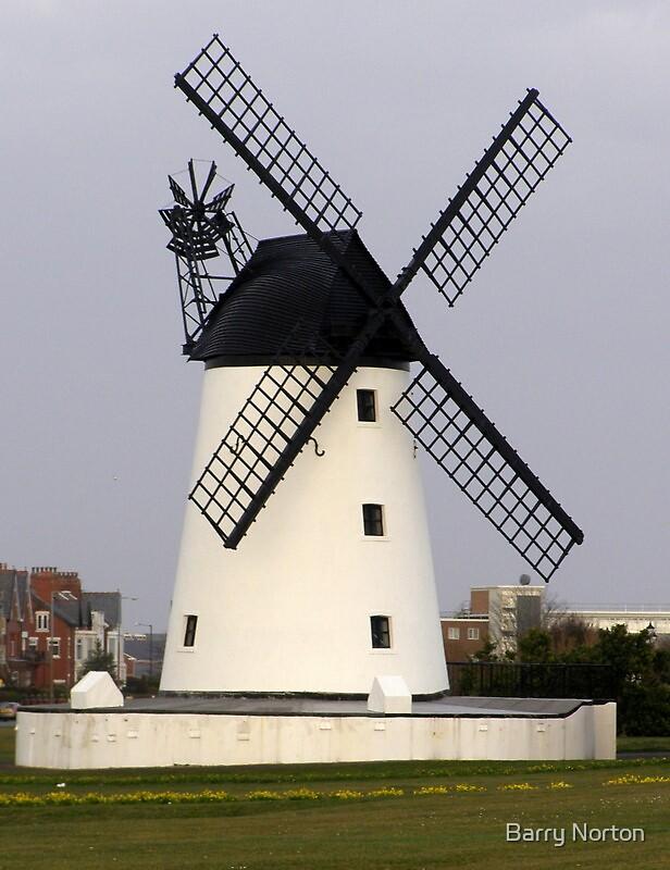 Lytham windmill 2 by Barry Norton
