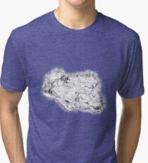 Skyrim Map Tri-blend T-Shirt