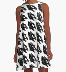 angry wolf  A-Line Dress