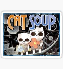 Cat Soup Sticker