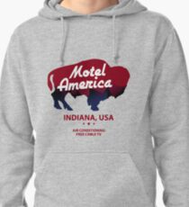 Motel America - Home of the Gods Merchandise Pullover Hoodie