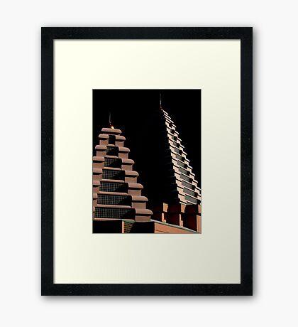 Temple, Brampton, Ontario Framed Print