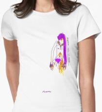 'Indy-Go-Anna' (Drag Racer Series) Women's Fitted T-Shirt