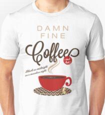 Twin Peaks Damn Fine Coffee Unisex T-Shirt