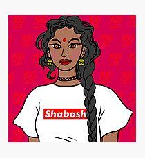 Shabash beta Shabash Photographic Print