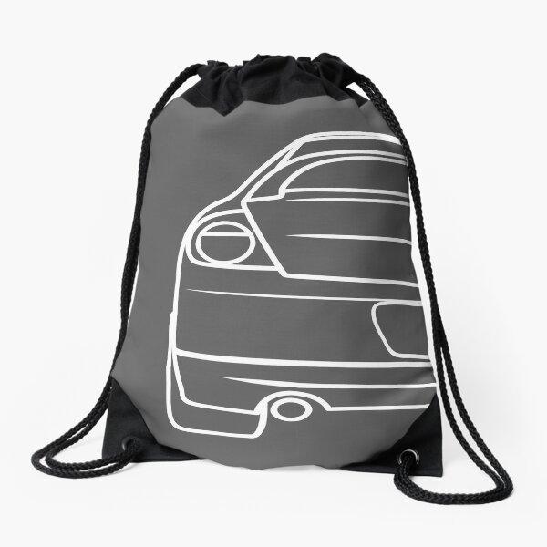 New Dodge Drawstring Backpack Black /& Neon Green