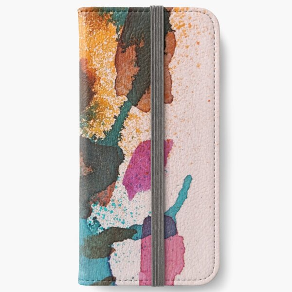 Small abstract version 1 iPhone Wallet