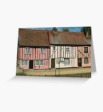 Riverside Cottages Greeting Card