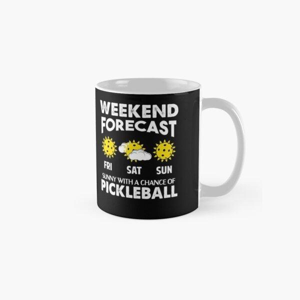 Weekend forecast - Pickleball Classic Mug