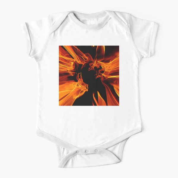 Solar Ghosts 2 Short Sleeve Baby One-Piece