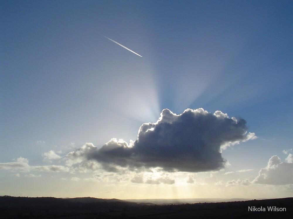 Cloud Burst by Nikola Wilson