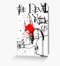 Gonzo: The Devil Inside Us Greeting Card