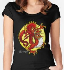 Dragon Arts Women's Fitted Scoop T-Shirt