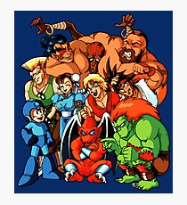 Early 1990s Capcom Character Lineup Photographic Print