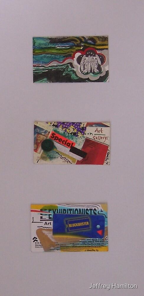 3x Miniatures by Jeffrey Hamilton