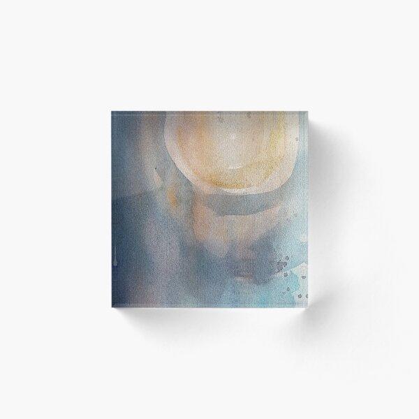 Misty moonlight Acrylic Block