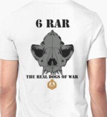 6 RAR- The Real Dogs of War T-Shirt