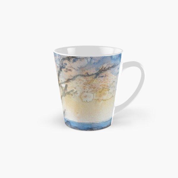 Trees in blue & goldy Tall Mug