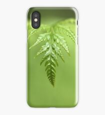 green wave iPhone Case/Skin