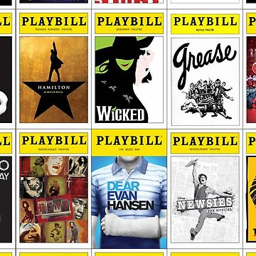 PLAYBILL Collage by JaymanCreative