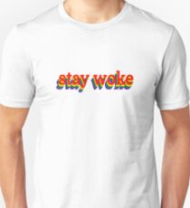 Stay Woke Graphic Unisex T-Shirt