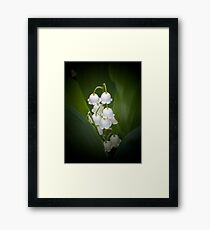 Of The Valley Framed Print