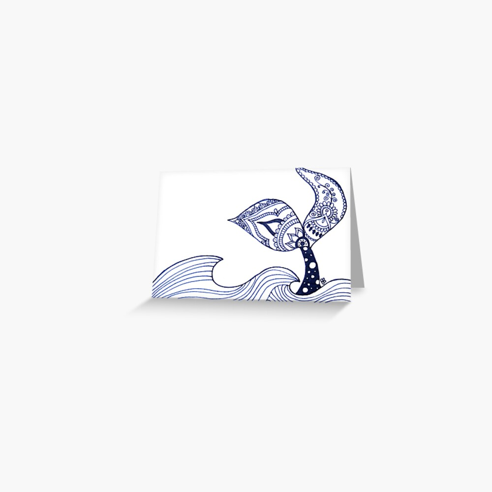 Mermaid Tail Sighting! Greeting Card