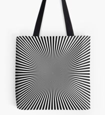 Optical Illusion Tote Bag