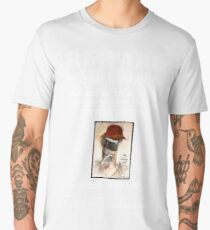 WANTED: Hunter S. Thompson (Black) Men's Premium T-Shirt