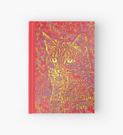 Goldenrod Crimson Hardcover Journal