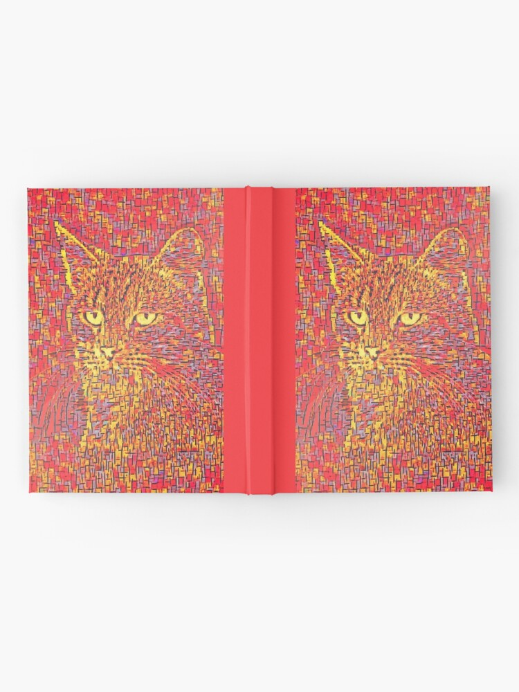 Alternate view of Goldenrod Crimson Hardcover Journal