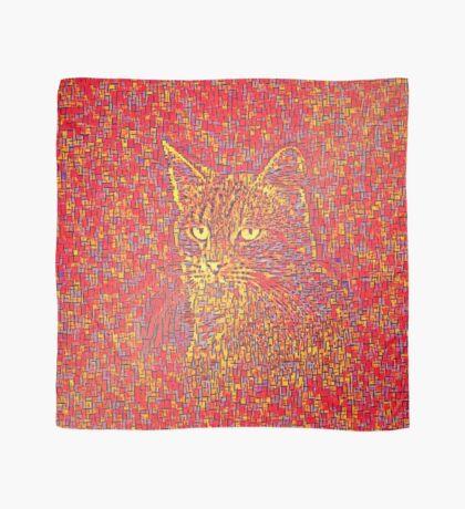 Goldenrod Crimson Scarf