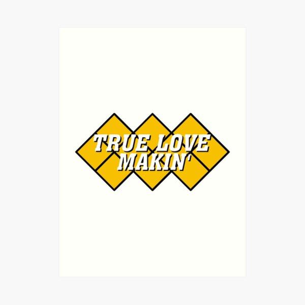 Capcom vs snk 2 cvs2 Classic RARE Design TRUE LOVE MAKIN. 100% Redrawn In Adobe Illustrator Vector Format. Art Print