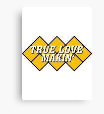 Capcom vs snk 2 cvs2 Classic RARE Design TRUE LOVE MAKIN. 100% Redrawn In Adobe Illustrator Vector Format. Canvas Print